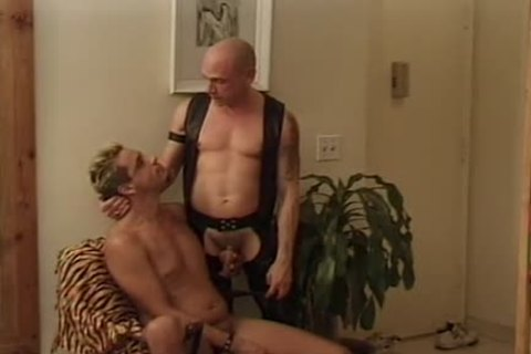 Leather Wolf - Scene 2 - Macho chap video scene