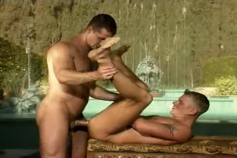 Cheating on his boyfriend with a palatable blond