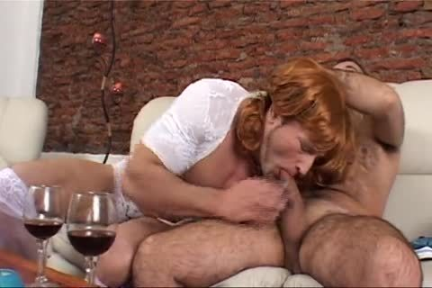10-Pounder-engulfing Dressed As A Woman - Latin-lusty