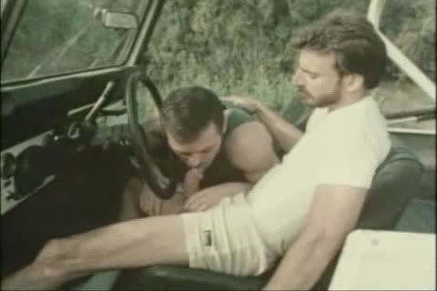 Vintage oral sex-sex In A Car