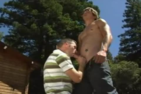 Brad Starr Kurt horny-looking Outdoor