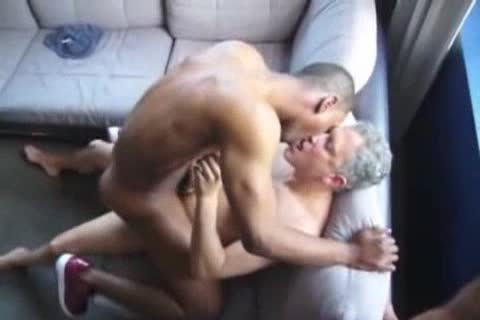 dark homo lad pounded By Two Ultimate prostitutes
