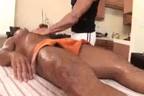 daddy Massage Turns tasty