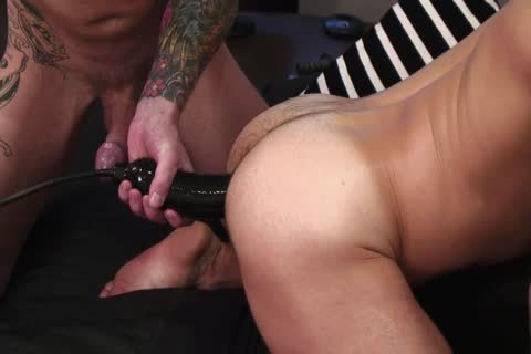 chap With hairless oral Is On His Knees deep Throating Hard dick