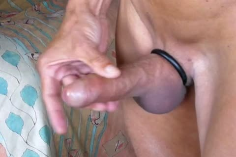 Stripping, Swinging My jock, Jerking-off And Cummin In The End