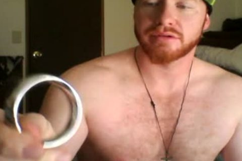 Jerking With My penis Ring And My Monster Hat