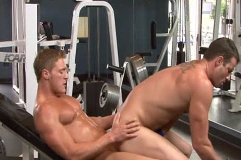 juicy penises bunch-sex In The Gym