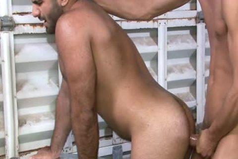 Excited homo Gives oral sex job At Work