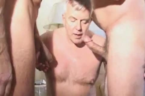 daddy daddy Suit Silver Daddy Have admirable Sex In Hotel Room