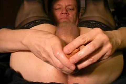 Solo Tube penis arsehole Reaming
