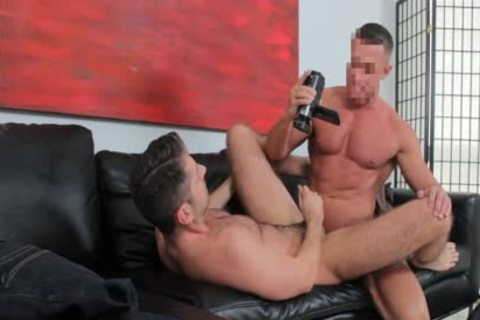 Straight boy On The Casting sofa Sucks Some penis