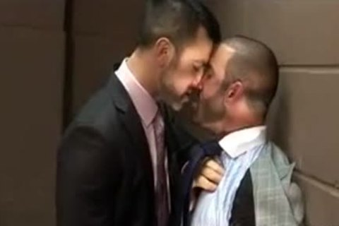 naughty Hunks sucking In The Office