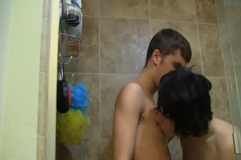 Josh Bensan And Kain Do It In The Shower