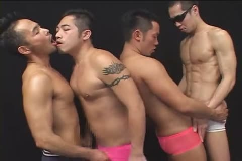 [GVC 302] wicked oriental Foursome plowing