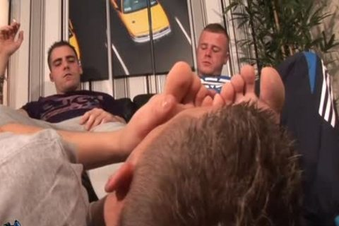 Worship Two large Feet And Socks