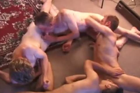 young Foursome teat Biting Sex fuckfest