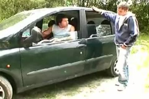 legal age teenagers suck job In The Car