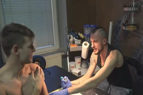 filthy Sex For cash In A Tattoo Studio