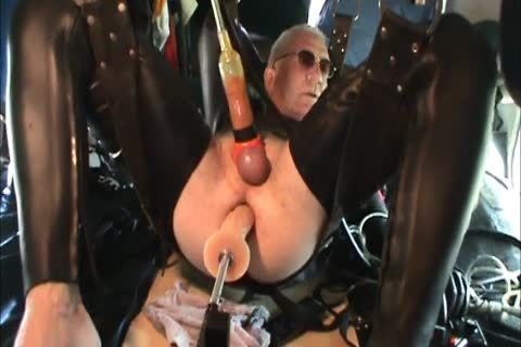 Rubber boyz Geared Machine fucked