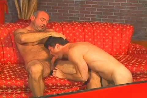 stunning homo man Muscle Mike drills Patrick Ives