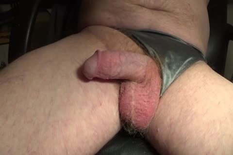 Honda Teasing And Petting His Clitty And Balls.