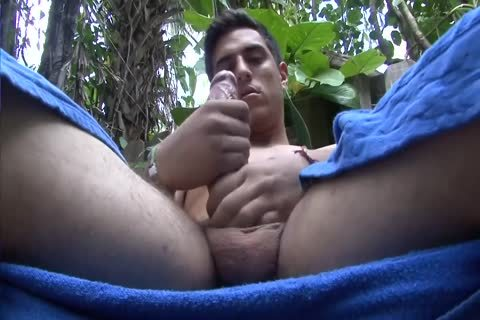 Ball Juice engulf My horny long penis Outside On This Great Sunny Day And drink My Load