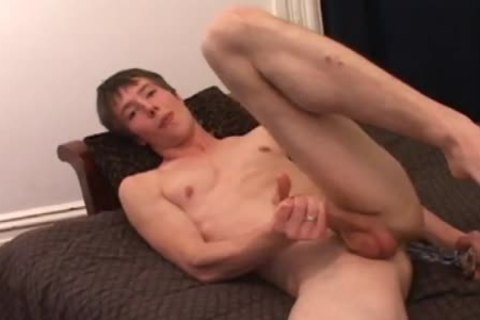 Skinny dilettante Skater Twinky Andrew Patterson Jerks Off His Mighty Weiner