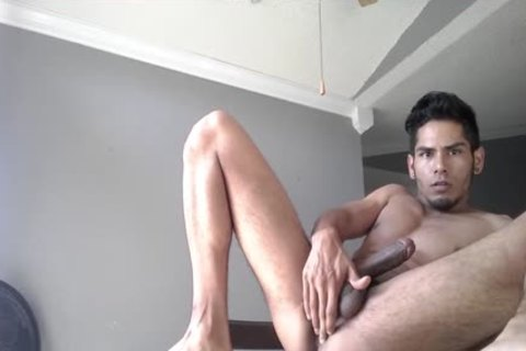 amateur Damian Pumps Out A large Load