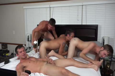 A couple AND TWO friends pounding ON webcam