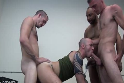 Latin gay double penetration And sex cream flow