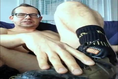 Steeltowed Worker Shoes And My nude penis