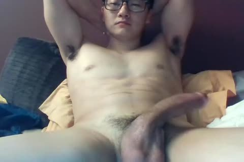 A big Dicked South Korean boy Jerks And Cums