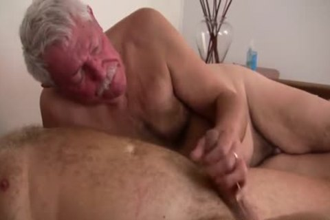 old daddy men pounding