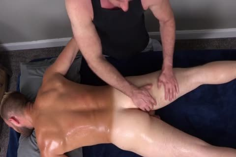 7a bushy Muscle Massage With butthole intercourse