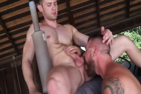 1-7 two Hunk And Daddy pound In The Barn