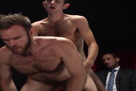 MormonBoyz - Two Missionaries poke As punishment For Priest Daddy