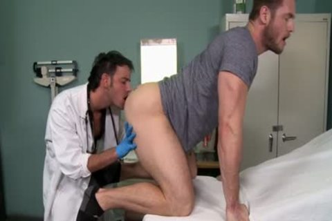 Muscle Doctor ass job With cream flow