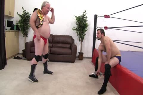 daddy Vs Younger Wrestling