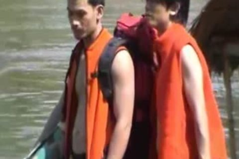 Thai twinks bare On A River