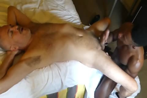 Hung White daddy gorgeous darksome wazoo