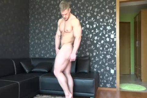 Gary strips undressed
