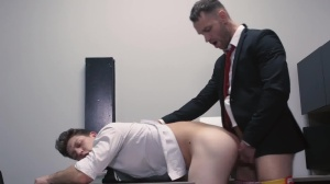 ass Controller - Paul Canon with Kit Cohen Muscle Sex