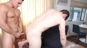 The Married Bottom - Dennis West & Topher Di Maggio ass Hump