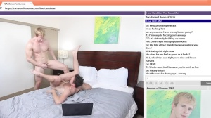 The Chat Room - Cameron Foster with Brandon Moore anal Hump