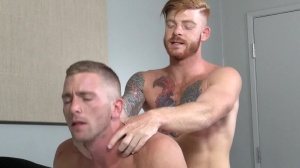 Straight chap's bitch - Bennett Anthony & Scott Riley butthole Hump