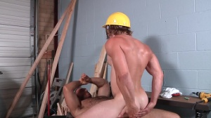 Daddy's Workplace - Brad Kalvo and Tom Faulk butthole Hump