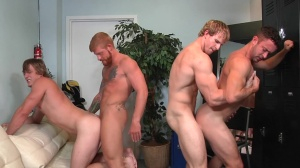Swingers - Cameron Foster & Bennett Anthony ass nail