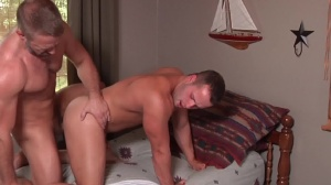 Son exchange - Dirk Caber & Luke Adams butthole Nail