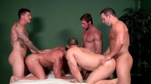 Bubble asses - John Magnum & Connor Maguire butthole Hook up
