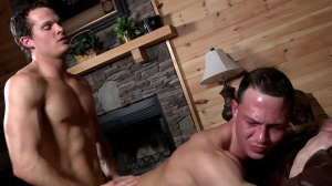 Aaron's First Time - Aaron Anderson and Liam Rosso a bit of wazoo